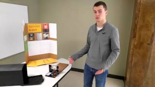MailBox Alert - Cronk - Winter 2015/16(This video was made to demonstrate my teams project completed in ENGR 122 at Louisiana Tech University. The product demonstrated here is the