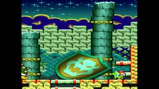 Yoshi's Island Ds 5-8 At Last! Bowser's Castle