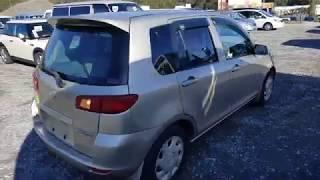 Видео-тест автомобилей Mazda Demio (DY3W-139361, 2003г)