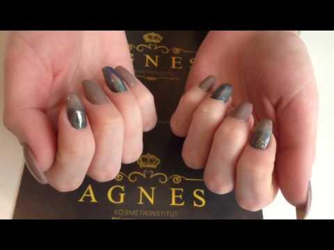 Holographic Nails Fingernagel Mit Special Glitter Glanzeffekt