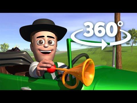 El Auto Bochinchero - 360 Grados Inmersivo - Las Canciones de la Granja de Zen贸n