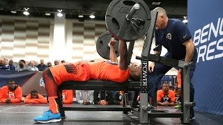 Top prospects pump serious iron at 2015 NFL Scouting Combine