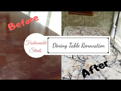DIY | Dining Table Renovation | Part Two