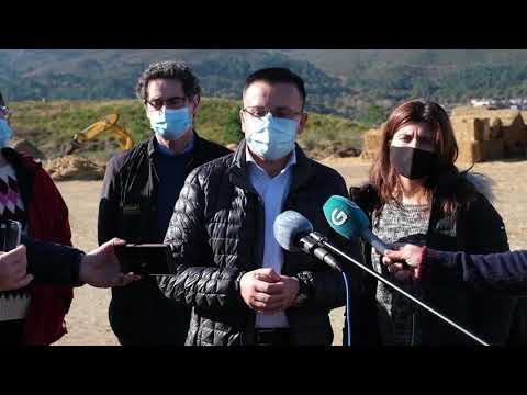 Así son los trabajos de regeneración en lo suelos afectados por incendios en Ourense