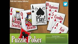 DGA Plays: Puzzle Poker (Ep. 1 - Gameplay / Let