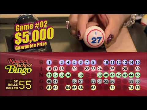 Kinsmen Jackpot Bingo Winners