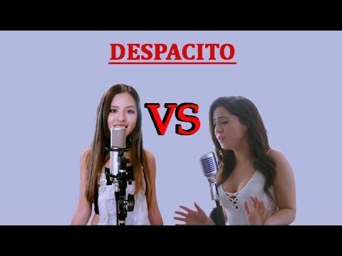 Justin Bieber ft. Luis Fonsi, Daddy Yankee - Despacito -Talia Martinez VS Jasmine Clarke (Cover)