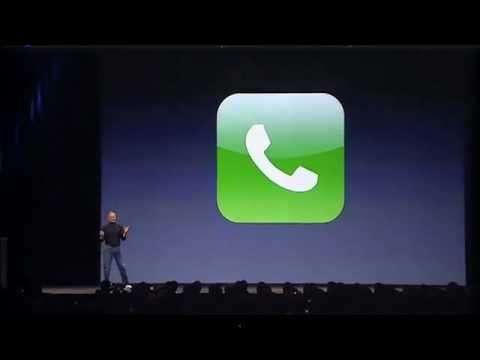 Highlights of Steve Jobs 2007 iPhone Announcement