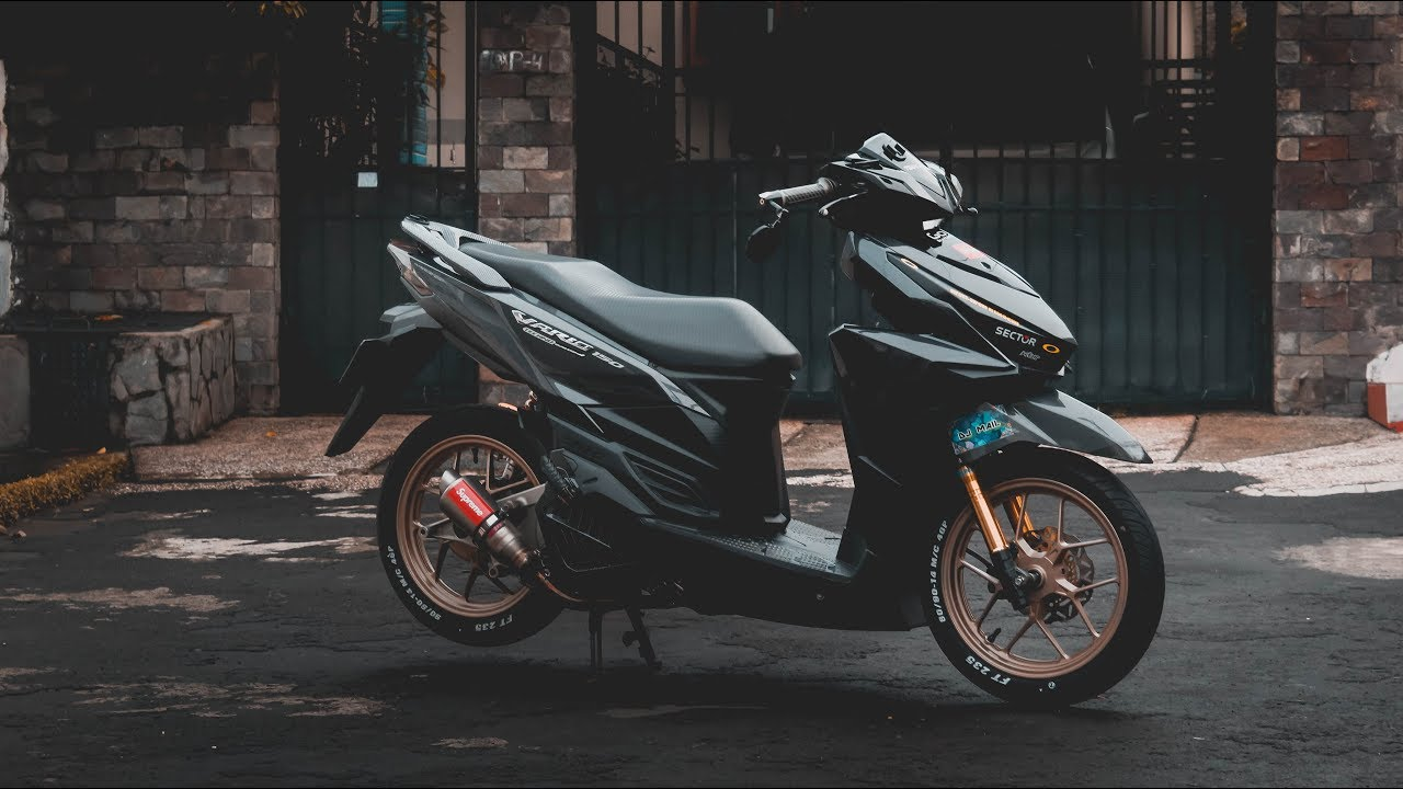 Download Kumpulan 80 Modifikasi Vario 150 Low Budget Terunik