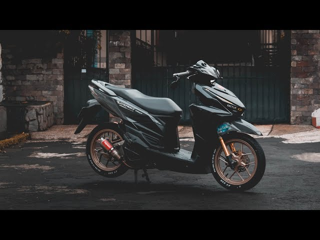 MODIFIKASI VARIO 125 LED!!! Simple Tapi Keren Versi Low Budget