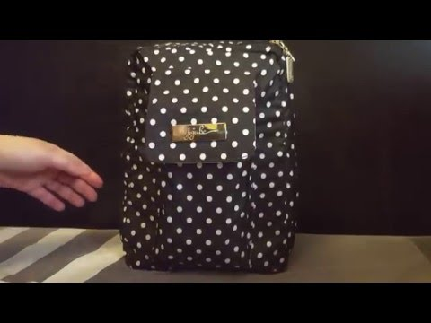 Ju Ju Be Mini Be - Duchess - Packed as a diaper bag