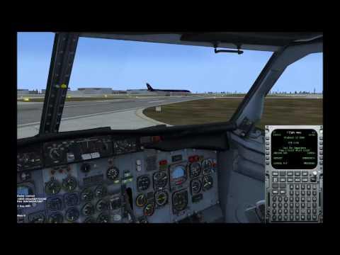 FSX Flying Piedmont with FSCaptain in the MilViz 737 200 Part 2
