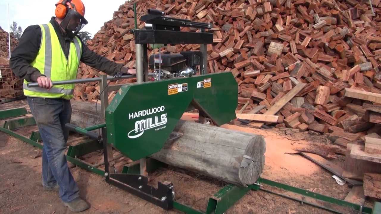 Portable sawmill hardwood mills gt saw mill milling a