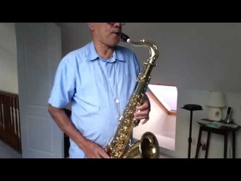 He Touched Me / Gospel / Cover On Selmer Mk 6, 1957 Tenor Sax.