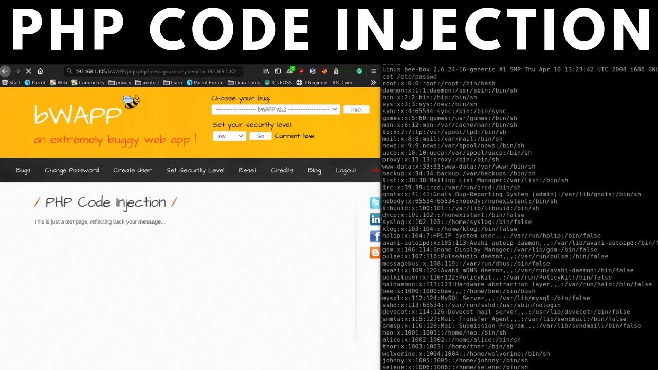 Bug Bounty Hunting - PHP Code Injection
