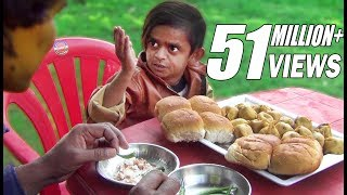 छोटू का वड़ा पाव   CHOTU KA WADAPAAV  Khandesh Hindi Comedy Video  Chotu Comedy