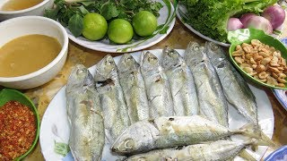Yummy Seafood Recipe, Khmer Food Cooking At Home - Quick And Easy Style
