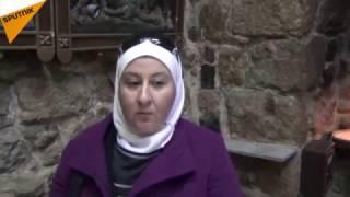 ماذا فعلت هذه المسلمة السورية داخل الكنيسة (فيديو)