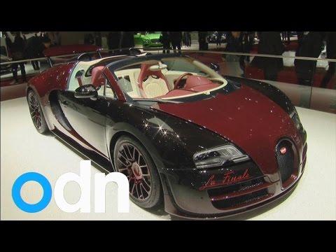 Bugatti display final Veyron in Geneva