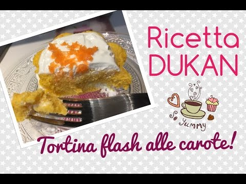 tortina-flash-alle-carote---ricetta-dieta-dukan-#ricettaflash