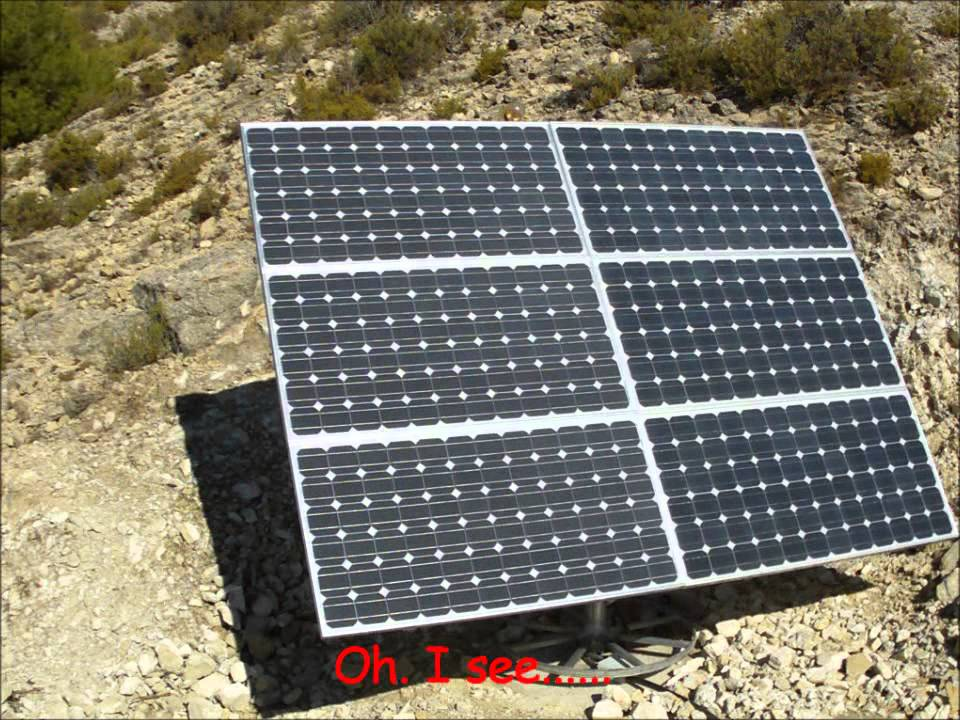 Solar Tracker System (Dual Axis