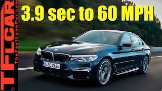 all new 2017 bmw 5 series can hit 60 mph in 3 9 seconds