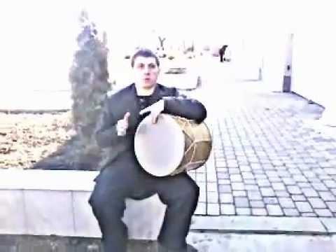 Армавир,армянский край,Ваган играет на барабане