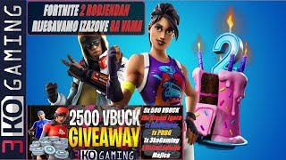 Forty 2 birthday we play with you + Giveaway 5x 500 V-Baksa + PUBG + 3koGaming shirt!!!