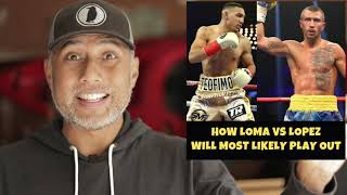 How Lomachenko vs Lopez will MOST LIKELY play out