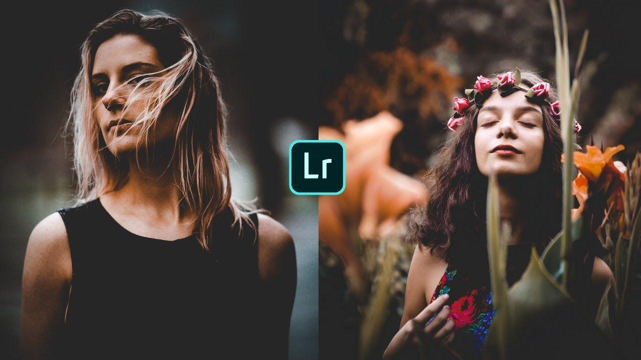How to Edit Faded Moody Dark - Lightroom Mobile Tutorial (Free Preset)
