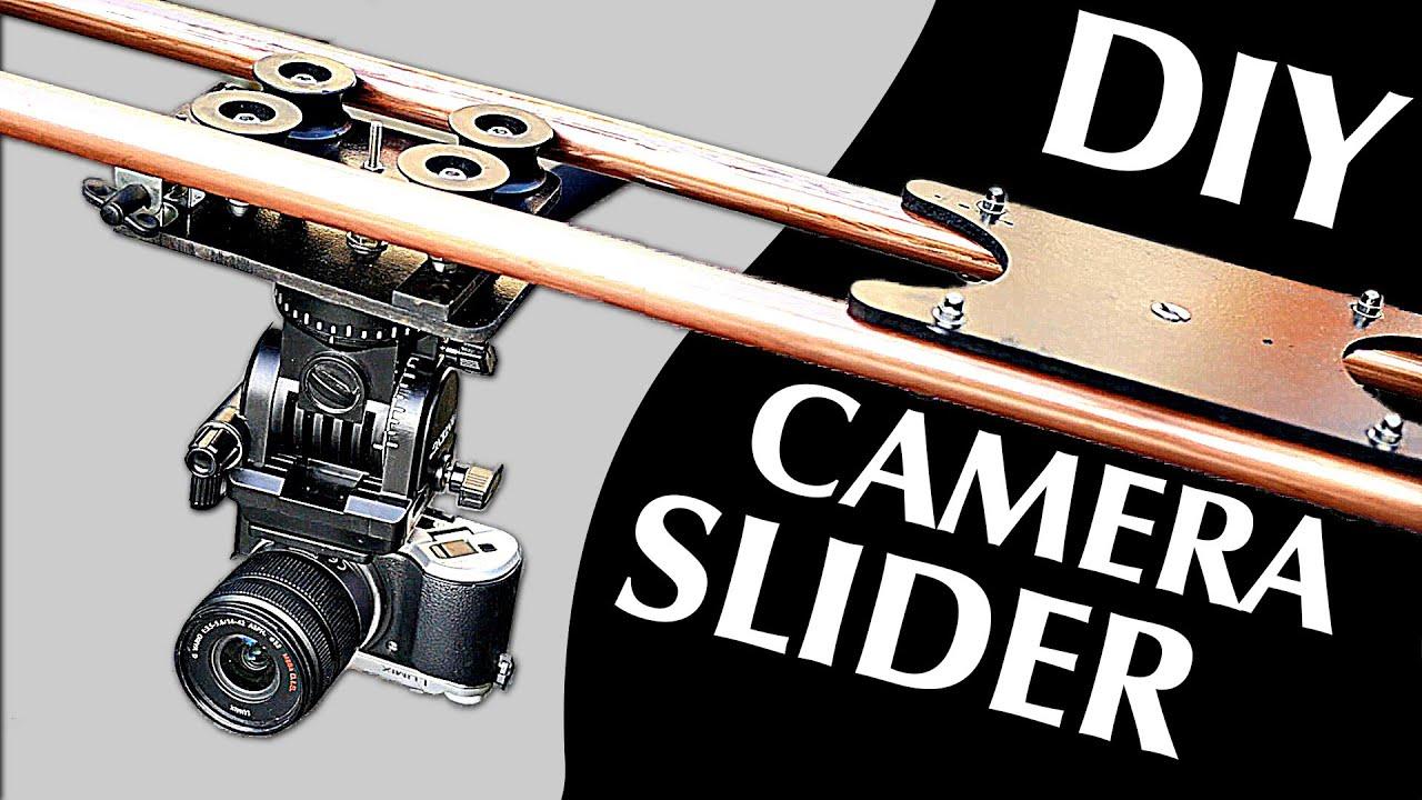 How To Make A Professional Camera Slider 100 Diy