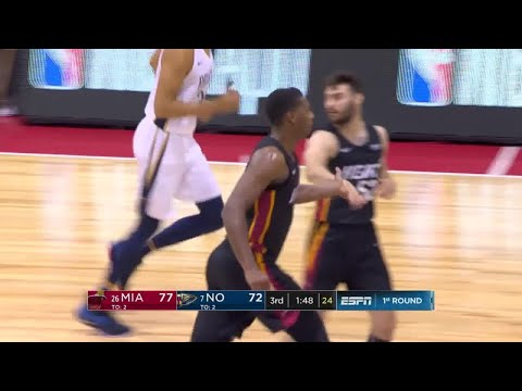 3rd Quarter, One Box Video: New Orleans Pelicans vs. Miami Heat