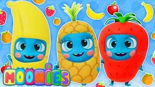 🍉🍋 ¡La fruta es guay!   Aprende a comer sano con esta nueva canción de Los Moonies