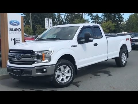 2019 F-150 XLT 300A 3.5L Supercab W/ 8 Foot Box Review| Island Ford
