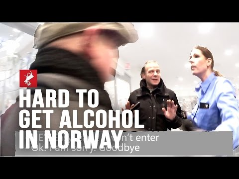 Impossible to get alcohol in Norway