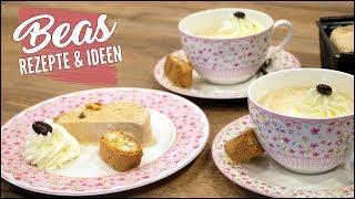 Parfait Dessert Rezept mit Kaffee-Cantuccini Geschmack - Beas Eisrezepte