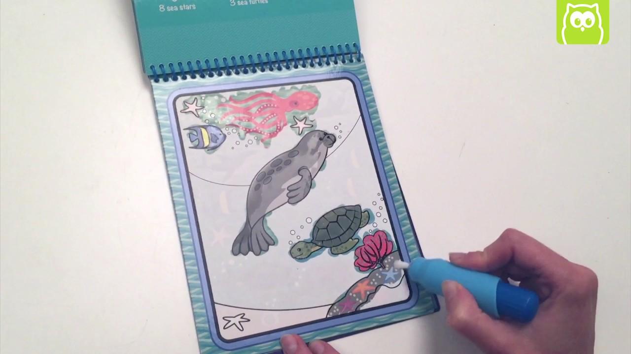 Waterwow juego de pintar con agua en Eurekakids - YouTube