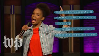 How Amber Ruffin used rap to joke about Kanye West