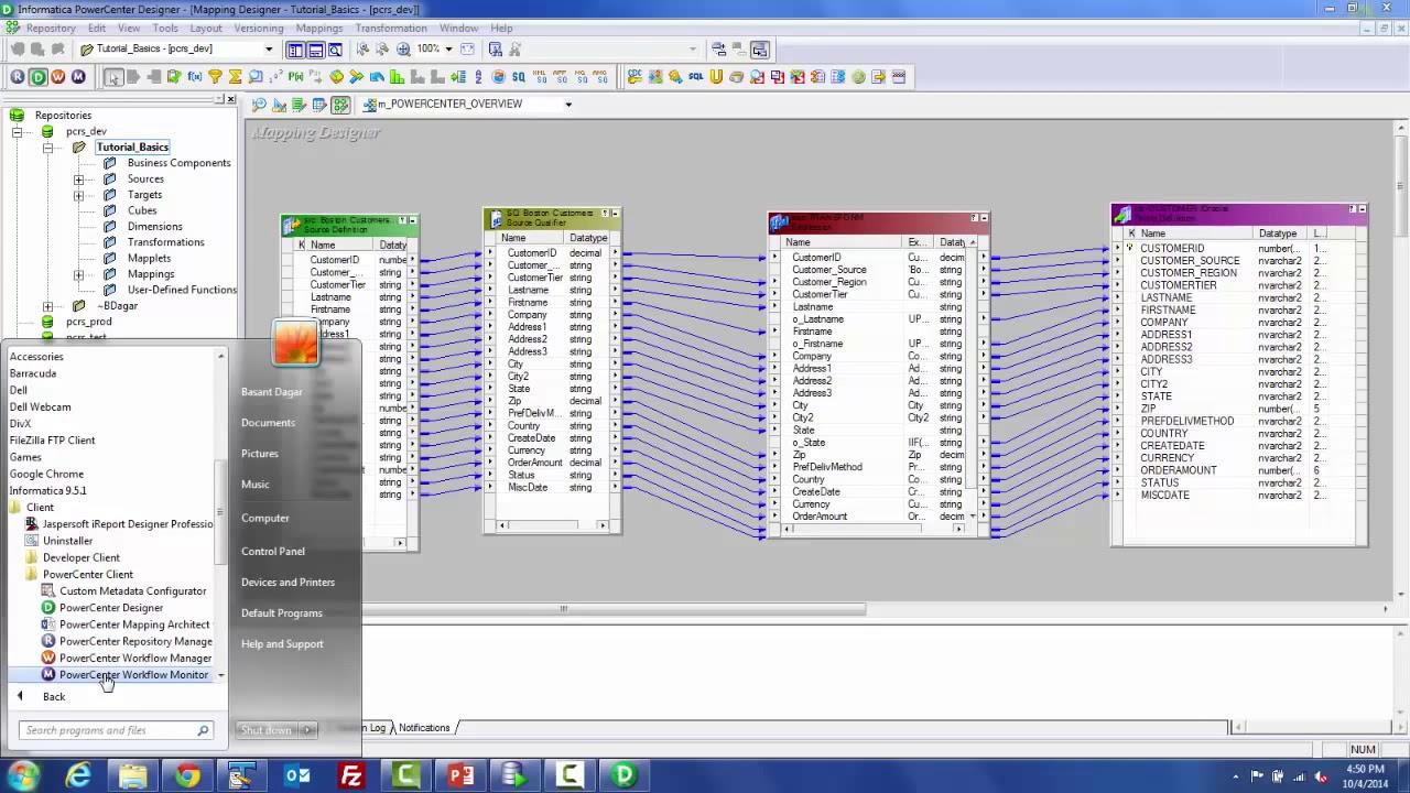 informatica tool tutorial pdf for beginners