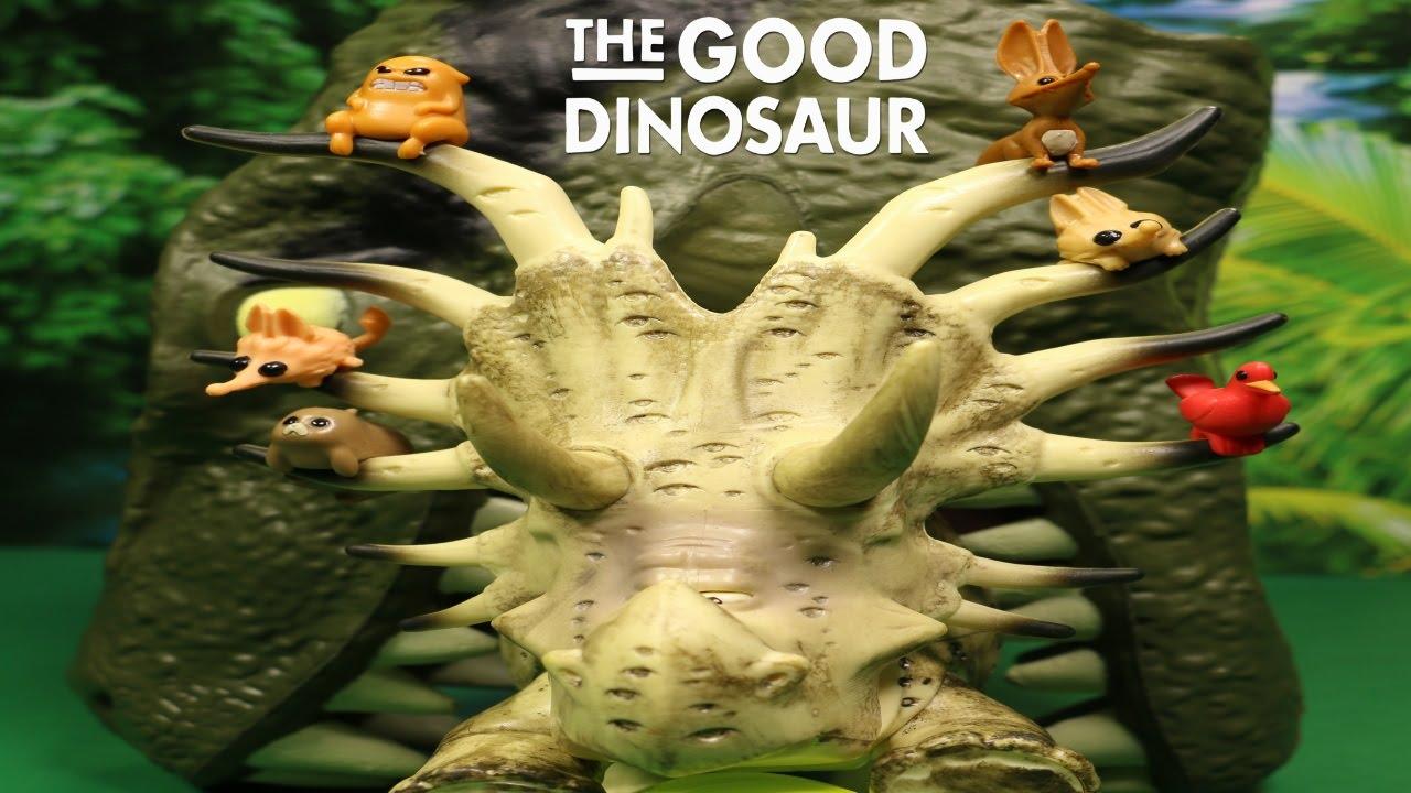 disney the good dinosaur forrest woodbush large figure unboxing