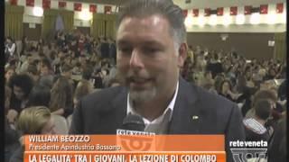 BASSANO TG - 29/09/2015 - LEGALITA' TRA I GIOVANI, LA LEZIONE DI COLOMBO