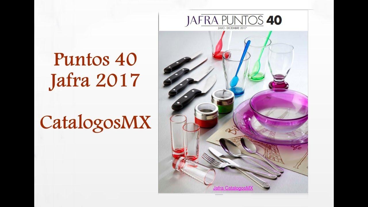 Puntos jafra 40 2017 jafra mexico youtube for Puntos galp catalogo 2017