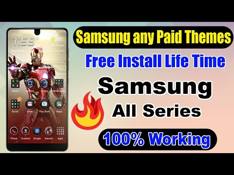 How To Install Samsung Paid Themes For Free Very Easy||All Samsung Series Themes Free