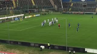 Punizione di Tonali del 2-0 [Brescia-Verona]