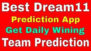 Dream11 Prediction App Best Team Prediction App For  Dream11, Hala Play & Playerzpot.