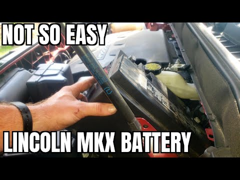 2016 2020 Lincoln MKX Battery Replace How to 2017 2018 2019