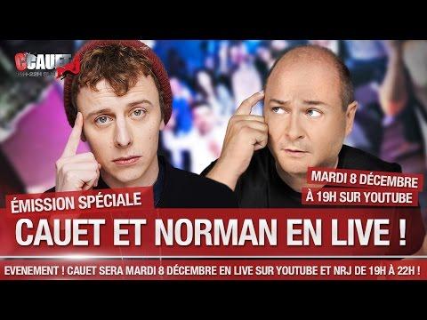 - C'Cauet sur NRJ- LIVE 8 DECEMBRE avec NORMAN et SEAN PAUL #NormanEtSeanPaulChezCauetSurNRJ
