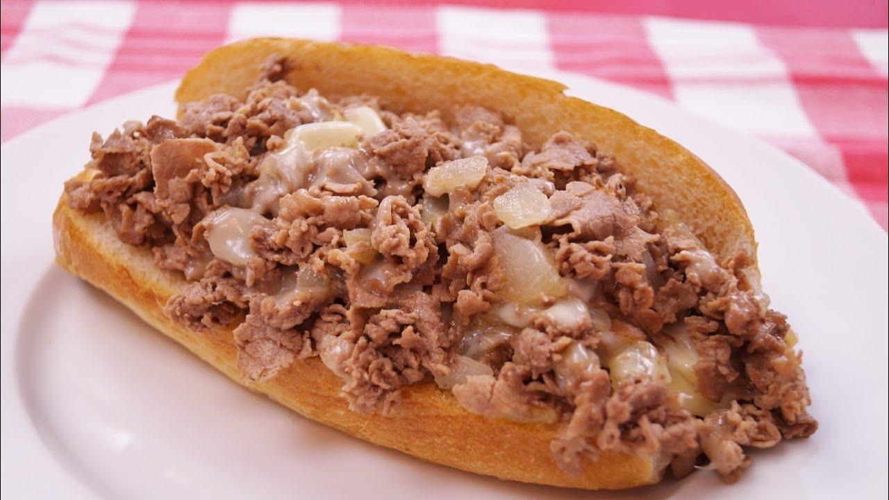 Cheese Steak: Recipe: How To Make Philly Cheesesteaks: Diane Kometa ...