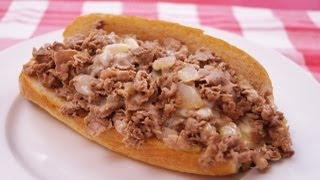 Cheese Steak: Recipe: How To Make Philly Cheesesteaks: Diane Kometa-dishin' With Di #102