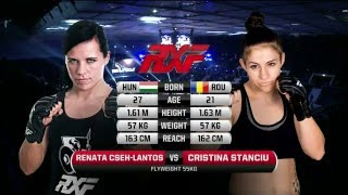 RXF 21: Renata Cseh Lantos vs Cristina Stanciu